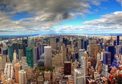 New York Skyline by Damian Brandon