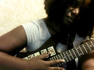 Yes, I'm a wannabe guitarist!