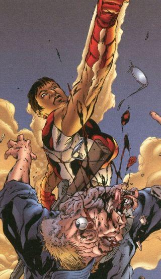 "Victoria Ngengi AKA ""Flint"" of the Wildstorm Universe"
